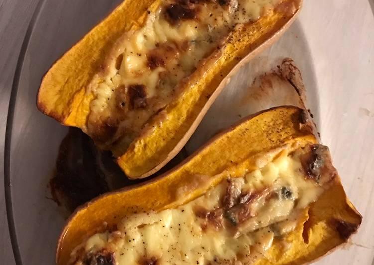 Recette Délicieuse Butternut rôti à la fourme d ambert