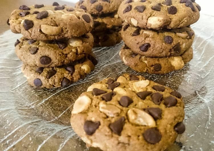 Cookies vegan sains tout cacahuètes 🍪