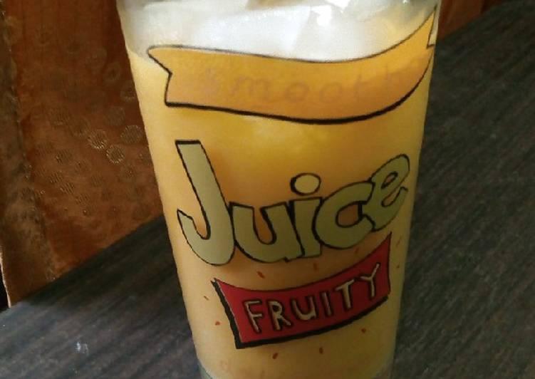 Jus Mangga Manggo Juice harum manis