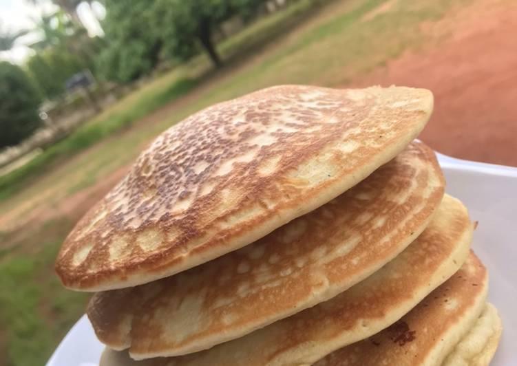 Recipe of Speedy Fluffy Pancakes