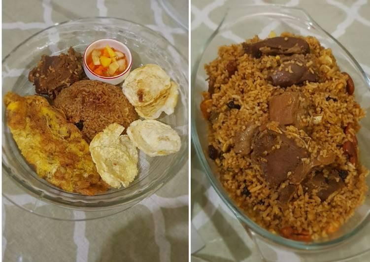 Nasi Kebuli dan Acar - cookandrecipe.com