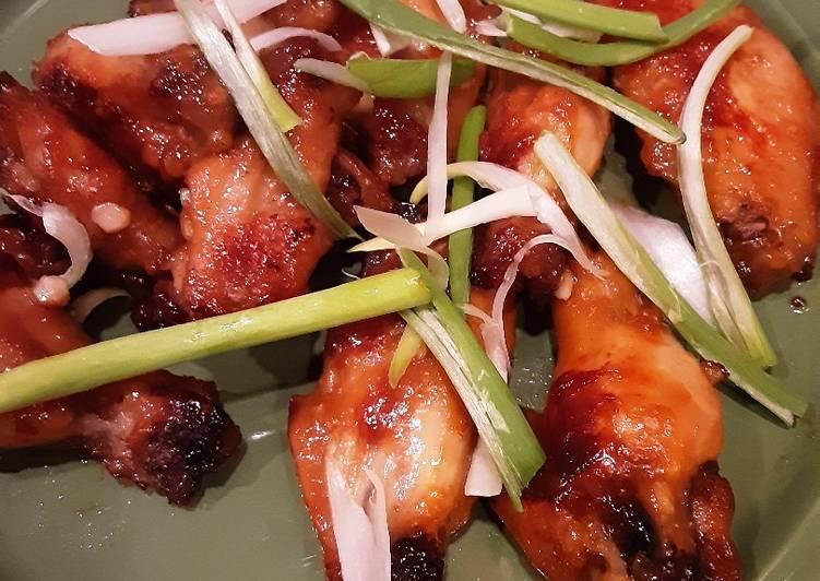Permalink to Recipe: Tasty Orange Ginger Chicken wings