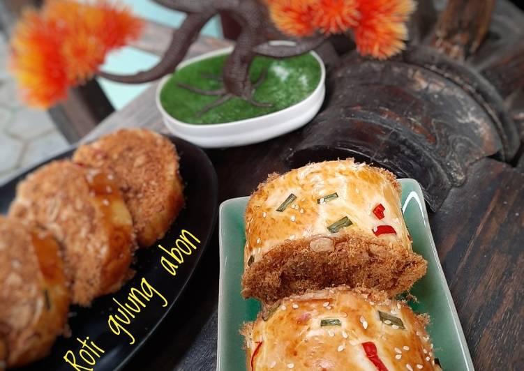 Roti gulung abon/flass roll