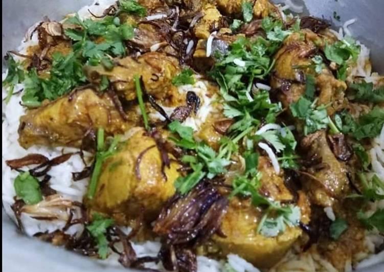 Recipe of Ultimate Chicken biryani