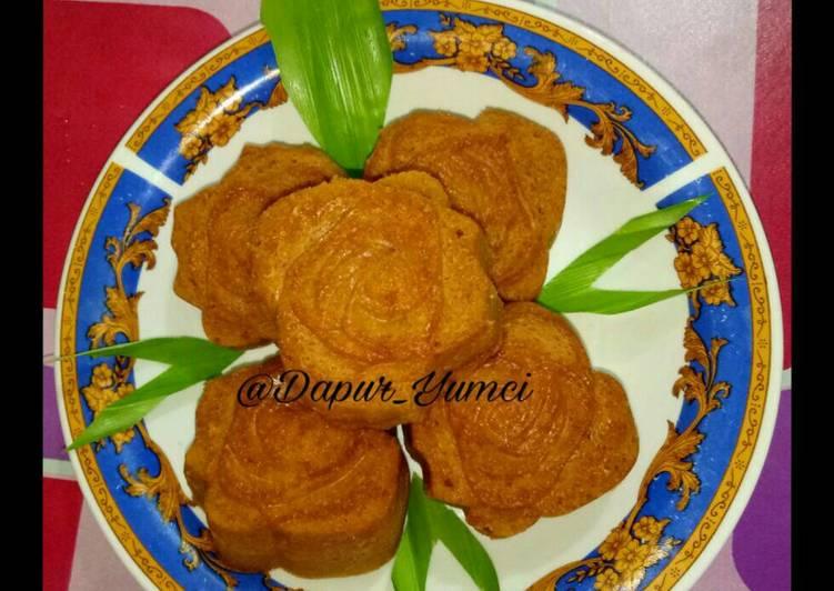Resep Bolu karamel kukus (kue harum manis), Enak Banget
