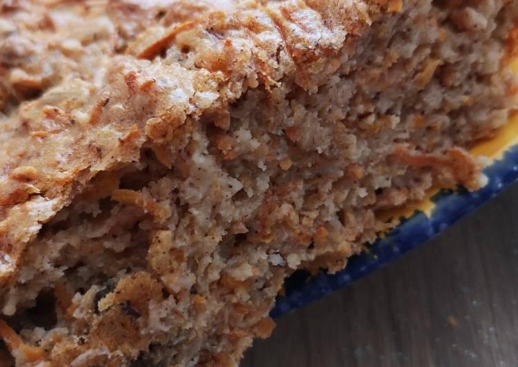 Cake aux carottes léger et rapide