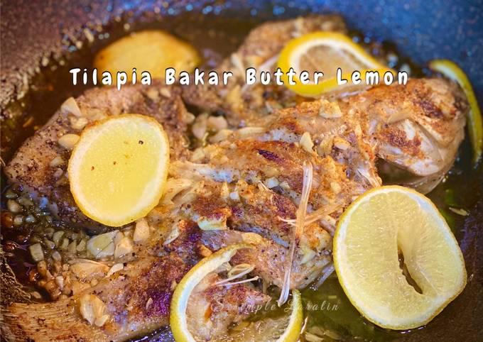 Resep Ikan Tilapia Bakar Butter Lemon (Menu Dinner Sihat 3 Bahan) yang Menggugah Selera