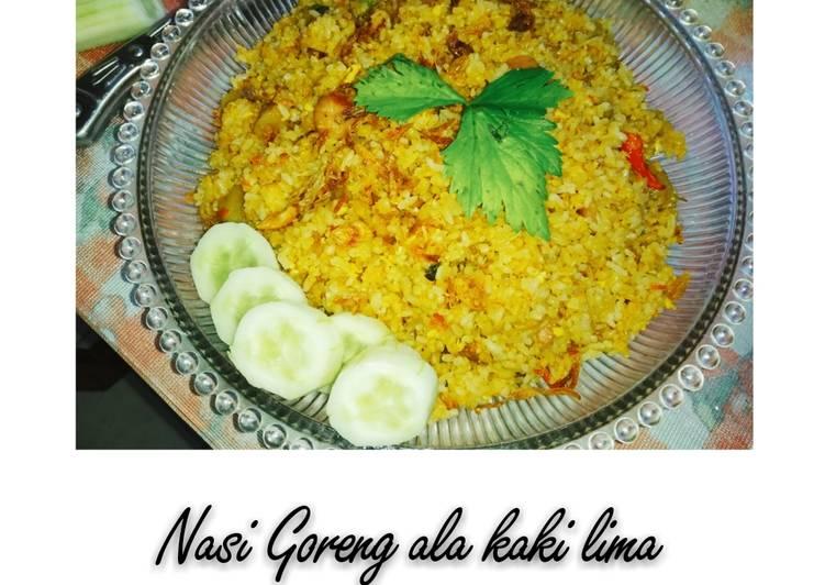 Nasi Goreng ala Kaki Lima