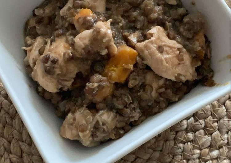 Comment Faire Des Lentilles au poulet au Cookeo