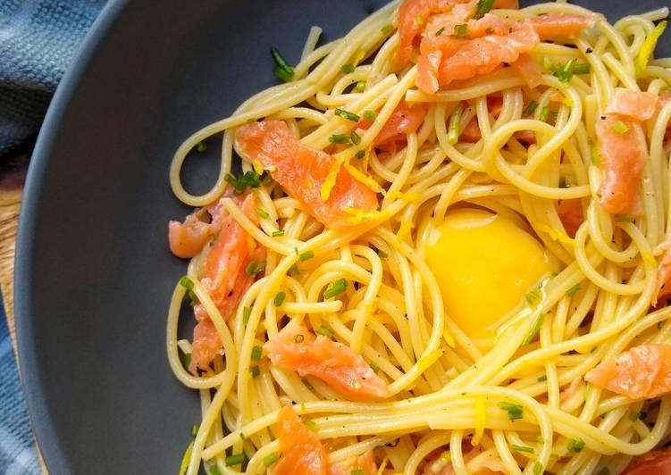 Recipe: Flavorsome Salmon 'Carbonara'