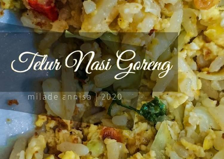 Resep 🥚🍚Telur Nasi Goreng Lezat Sekali