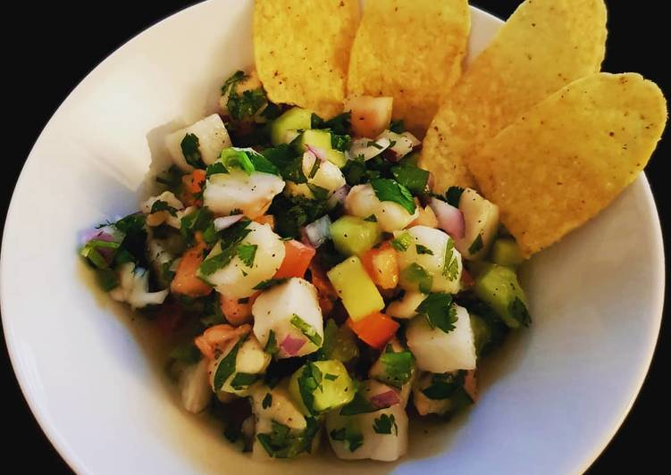 Easiest Way to Make Award-winning Fish and Shrimp Ceviche