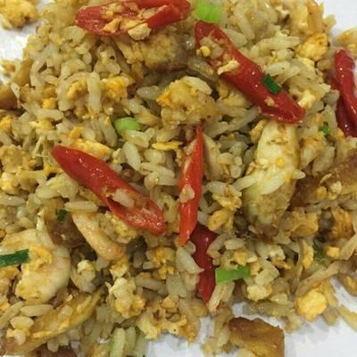 Resep Nasi Goreng Telur Orak Arik Sederhana Oleh Alisya Rohma Cookpad