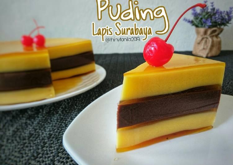 Puding Lapis Surabaya