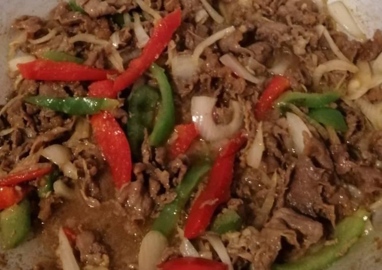 3. Beef Slice Yakiniku