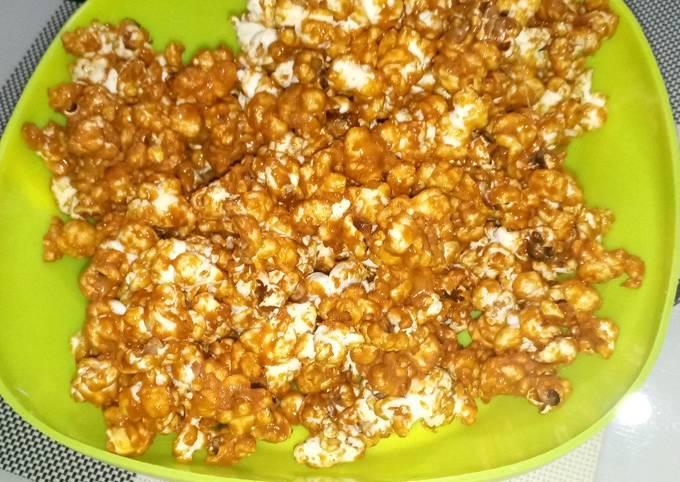 How to Prepare Tasty Salted Caramel Popcorns