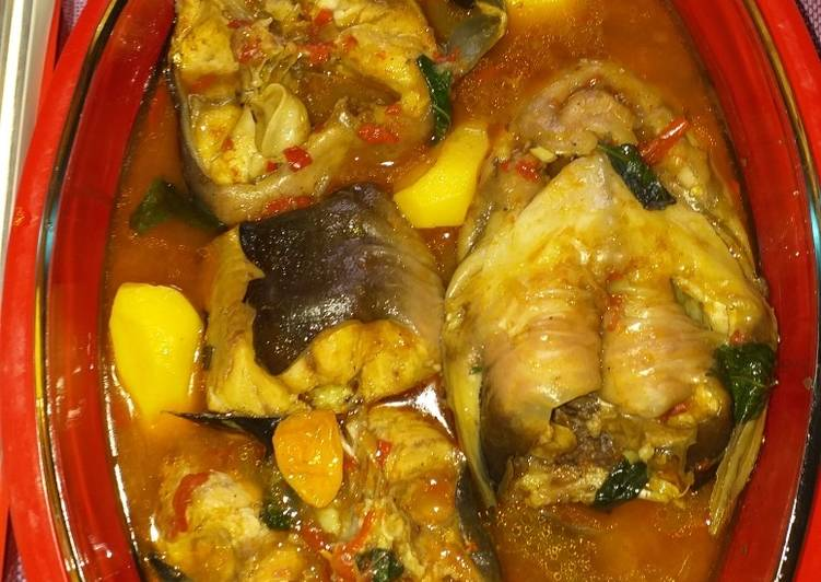 Steps to Make Favorite Cat fish pepper soup