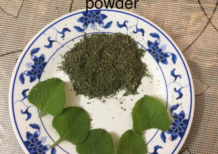 How to Prepare Ultimate Homemade oregano powder