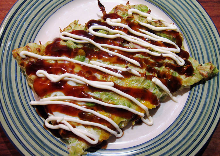 10 Minute Step-by-Step Guide to Prepare Cooking Oven-baked Okonomiyaki with Ham & Egg