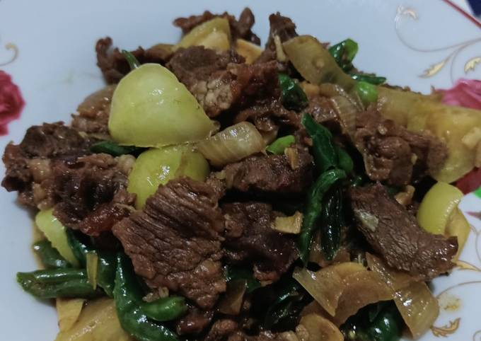 Daging sapi cah cabe ijo - projectfootsteps.org
