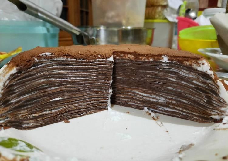 Choco mile crepes