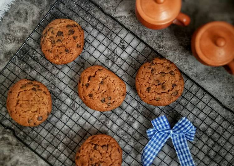 Chewy Chocolate Cookies ala New York