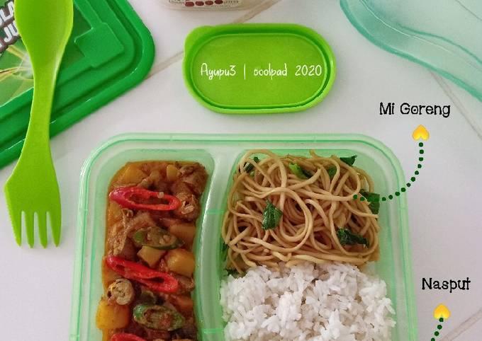 Nasi Bekal Bento (Green Box)