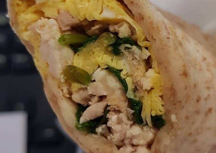 Steps to Prepare Speedy Chicken wraps