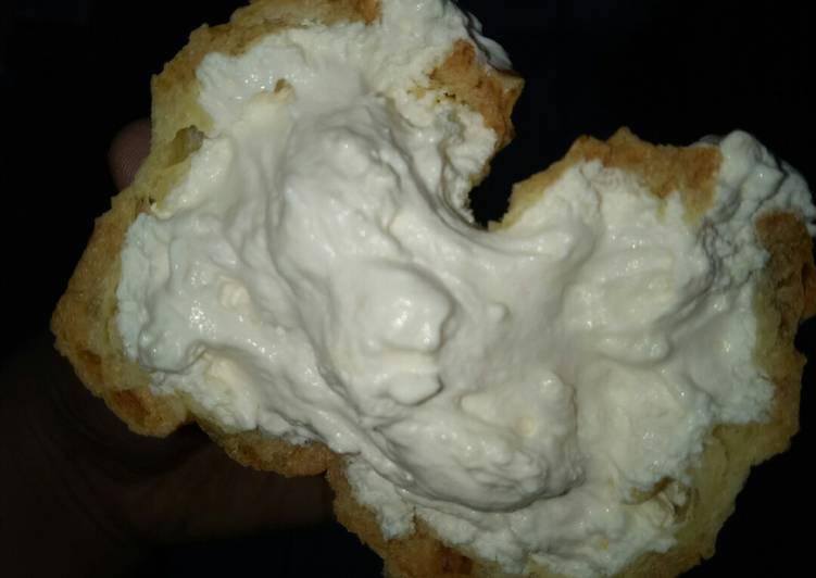 Cheese creampuff / kue sus krim keju