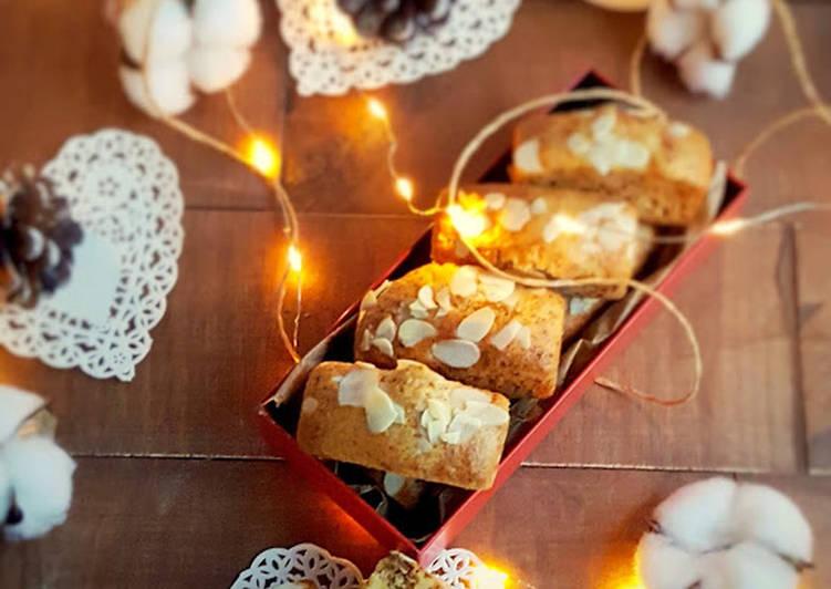 Minis cakes polenta et fruits secs