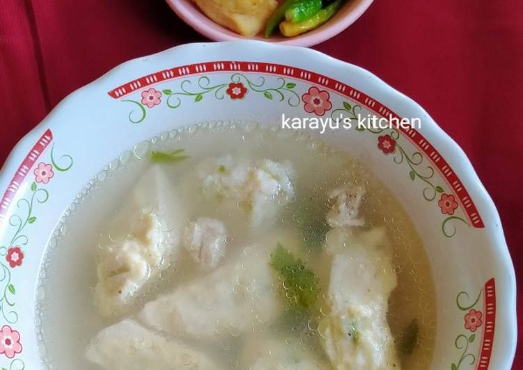 Tahu Bakso Kuah (Comfort Food)