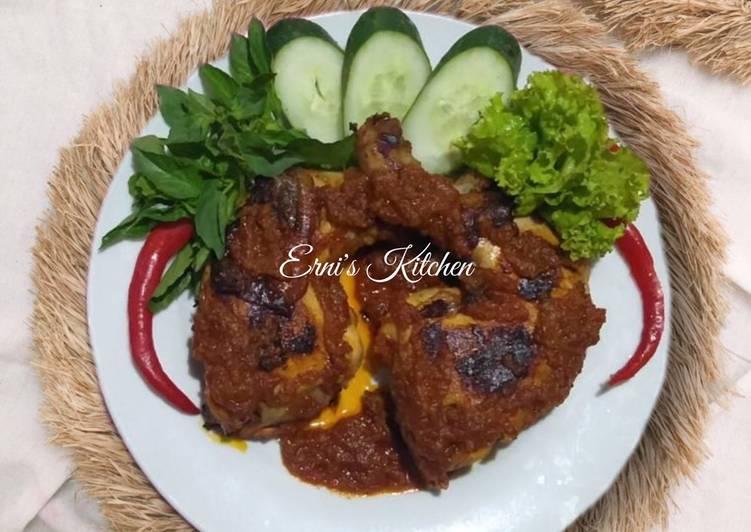 Ayam Bakar Taliwang Rumahan (Teflon)