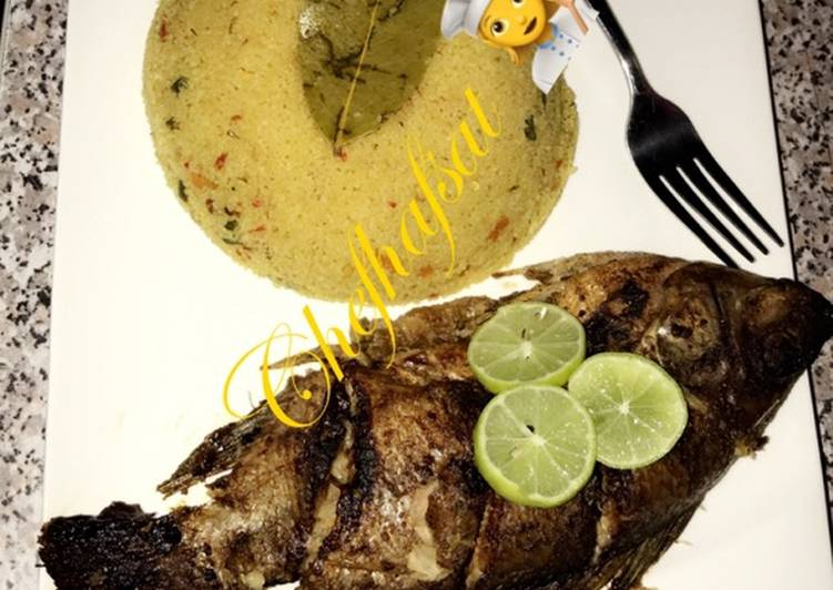 Step-by-Step Guide to Make Perfect Cous-cous and grilled tilapia