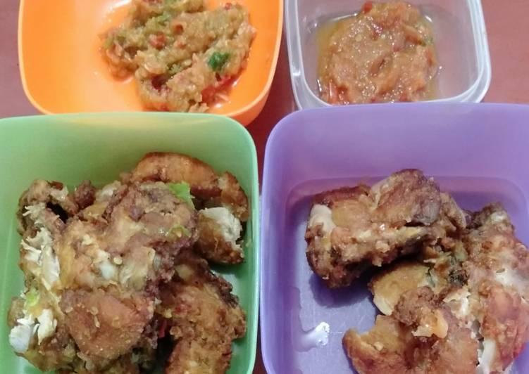 Ayam Geprek Ala Nani