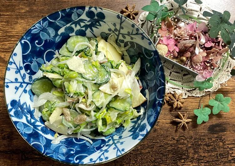 New Onion and Cucumber Salad