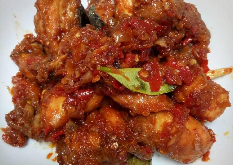 Resep Ayam goreng pedas manis oleh Nenden Sh - Cookpad