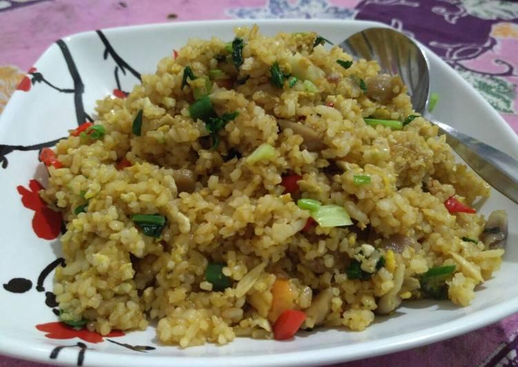 Nasi Goreng Bakso Sayur