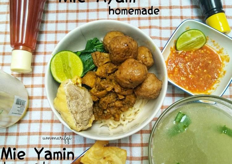 Mie Ayam & Mie Yamin homemade