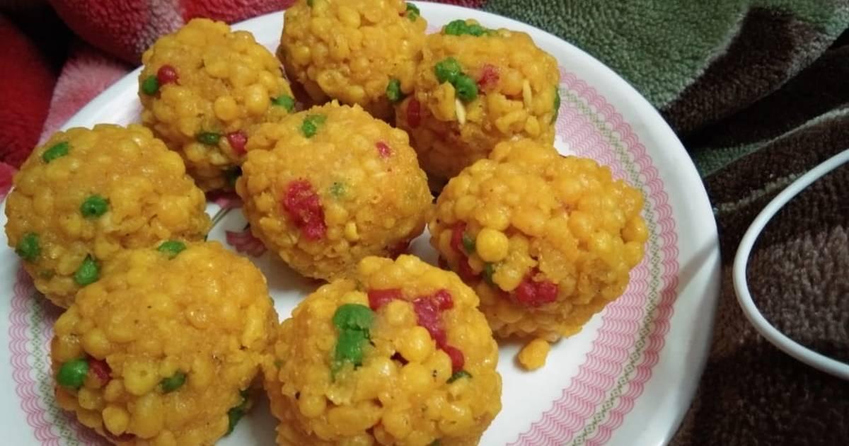 Boondi Ladoo Recipe By Versha Tiwari Cookpad