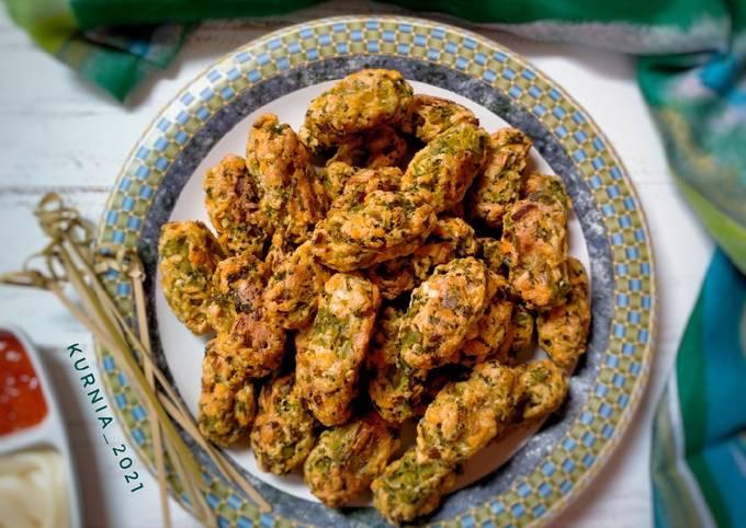 Broccoli Tots (snack brokoli panggang)