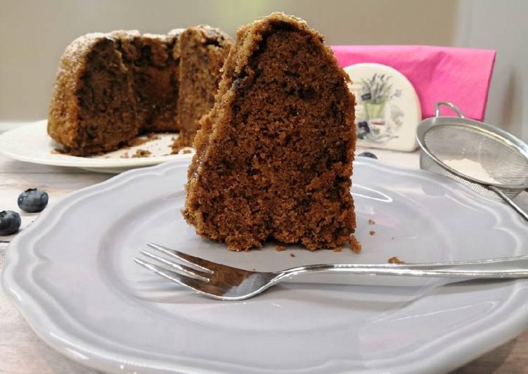 Glutén és tejmentes vörösboros kuglóf recept foto