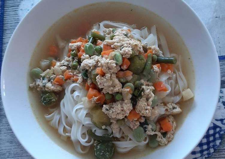 Spaghetti di riso thailandesi glutenfree