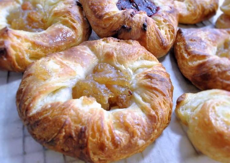 Recipe of Perfect Easy Danish pastries