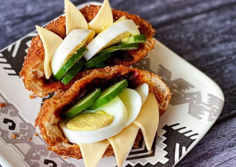 Resepi:  Roti Poket Ajaib Sambal Bilis Gardenia  Enak