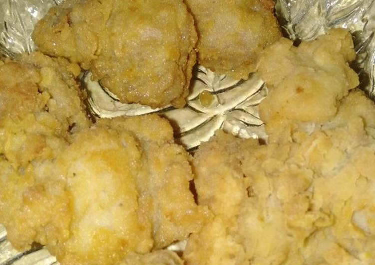 Ayam goreng ala² KFC