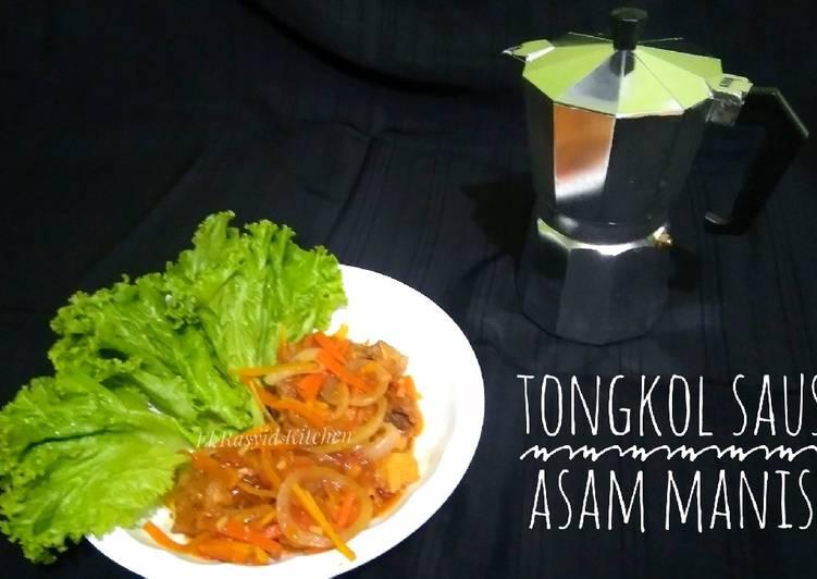Tongkol Saus Asam Manis