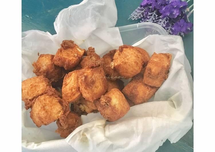 Tahu Krispy dengan tepung #Sorghum #MakananFavoritIbu #SemuaTentangIbu