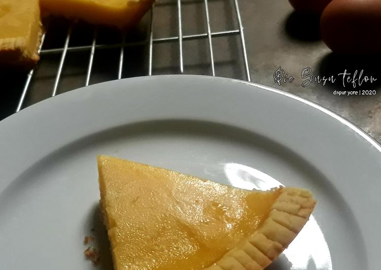 #61 Pie Susu Teflon (plus tips)