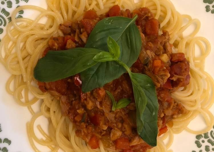 Tuna fish spaghetti