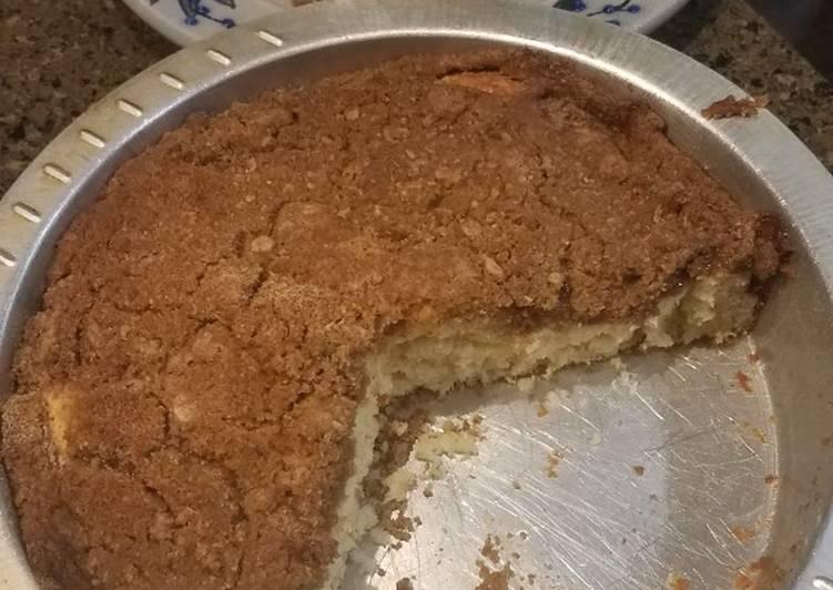 Simple Way to Make Homemade Coffee cake